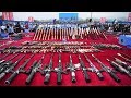 China Destroys Illegal Weapons mp3