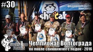 Чемпионат Волгограда по ловле спиннингом с лодок - 2016
