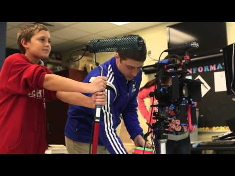 Pass Christian Middle School students learn about the film industry