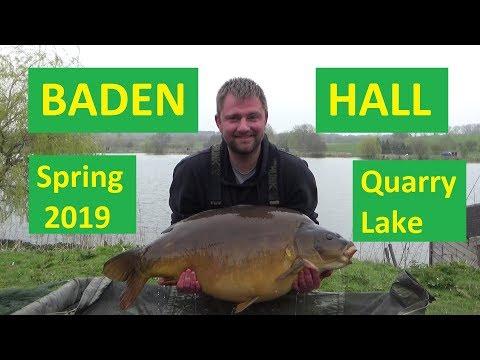 Baden Hall Quarry Lake Spring 2019