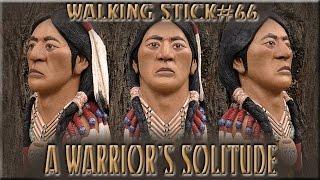 Native American Walking Stick #66