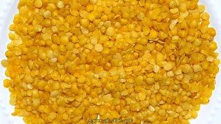 السعرات الحرارية في عدس أصفر غير مطبوخ