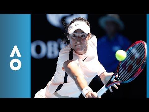 Marketa Vondrousova v Caroline Garcia match highlights (2R) | Australian Open 2018