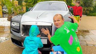 Папа выбрал себе новую машину Ролс Ройл Гост привидение