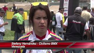 Juegos Bolivarianos 2013  // Stefany Hernández BMX Venezuela
