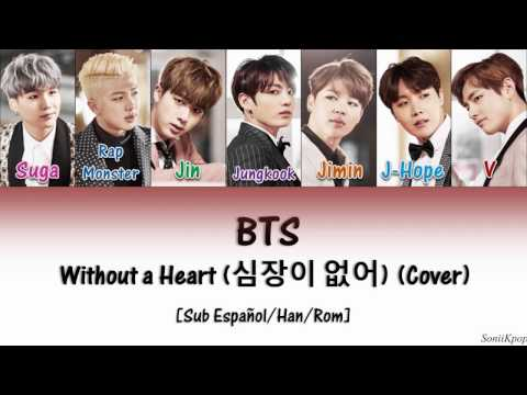 BTS - Without a Heart (cover)  [Sub Español|Han|Rom]