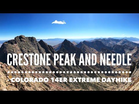 Crestone Peak and Needle - Colorado 14er Extreme Dayhike