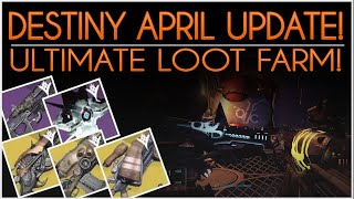 Destiny ULTIMATE LOOT FARM! How to Get Every Prison Of Elders Exotic, Consumed Shell & More!