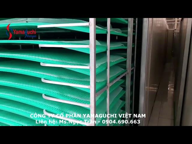 Hệ thống sấy bánh đa nem công suất lớn - Liên hệ: Ms.Ngọc - 0904690663