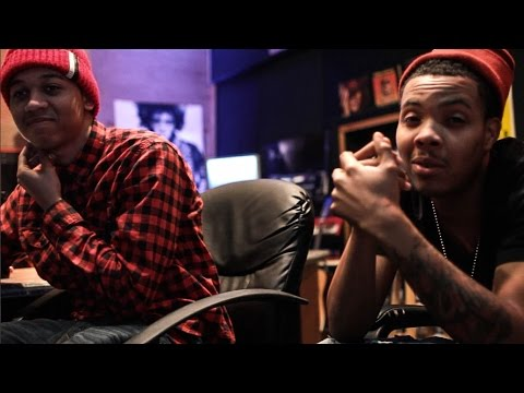 Studio Life: Lil Bibby and Lil Herb hit the studio.