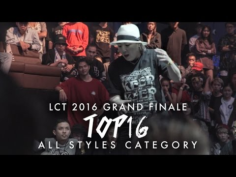 Marcus 'Marzipan' vs Popping Yon | Top16 All Styles | Lion City Throwdown 2016 Grand Finale
