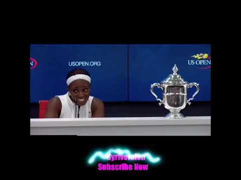 SLOANE STEPHENS HILARIOUS INTERVIEW