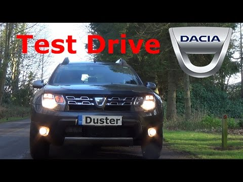 Dacia Duster Test Drive