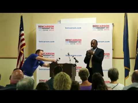 Ben Carson Visits New Hampshire on Thursday, August 13, 2015 by Michael Vadon Part 1 of 5