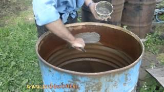 Как покрасить бочку для воды(Здесь на ролике я вживую решаю вопрос как покрасить бочку для воды. Но самое главное - ЧЕМ покрасить эту..., 2015-06-28T13:34:34.000Z)