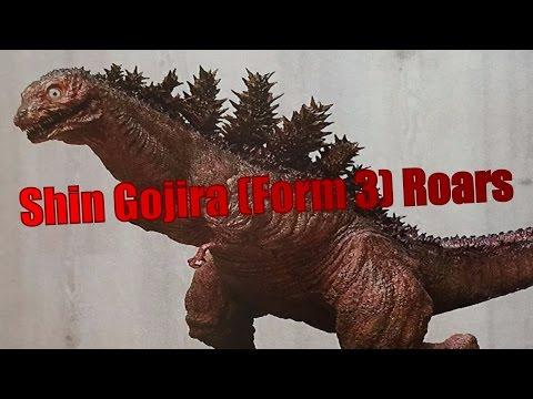 Shin Gojira (Form 3) Roars