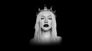 CHRISTINA AGUILERA - THE QUEEN IS BACK (THE LIBERATION TOUR BACKDROP)