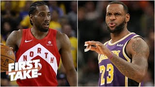 The Lakers will struggle to build the roster if Kawhi doesn't sign - Brian Windhorst | First Take