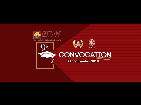 9th Convocation-21/11/2018
