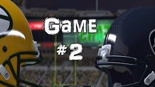 Madden NFL 2015: Game 2 - Greenbay Packers vs Seattle Seahawks (Xbox One)