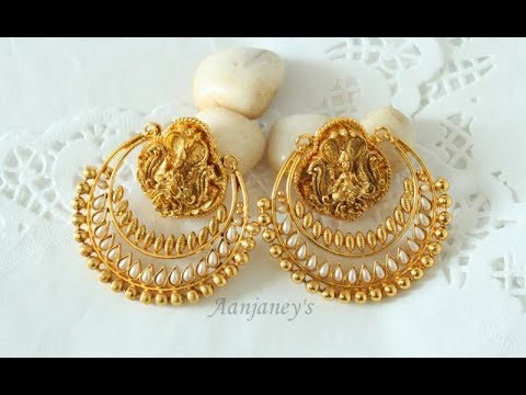 Latest New Gold Earrings Designs Collection Jewellery