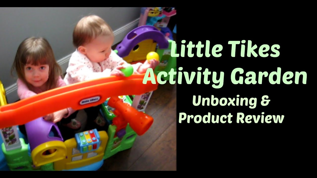 Little Tikes Activity Garden Unboxing Review Youtube