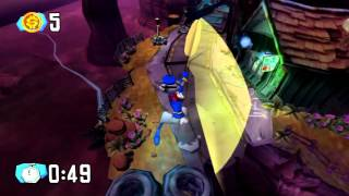 Sly 1: Master Thief Sprints - A Rocky Start (PS3)