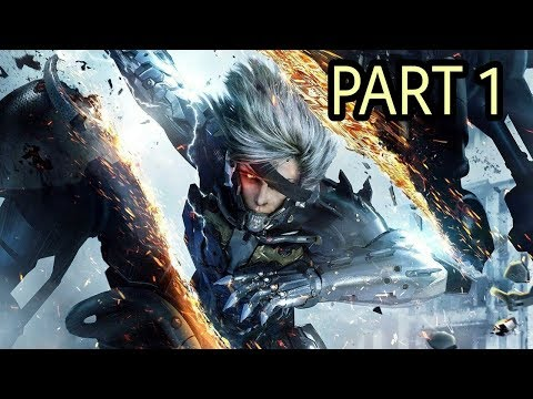 Metal Gear Rising Revengeance Gameplay Chapter 1 -  Guard Duty