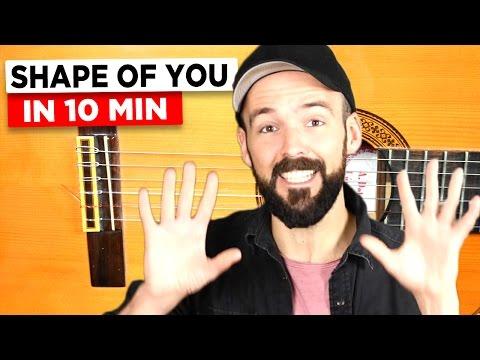 Gitarre lernen - Shape of you - Ed Sheeran - Anfänger & Fortgeschrittene