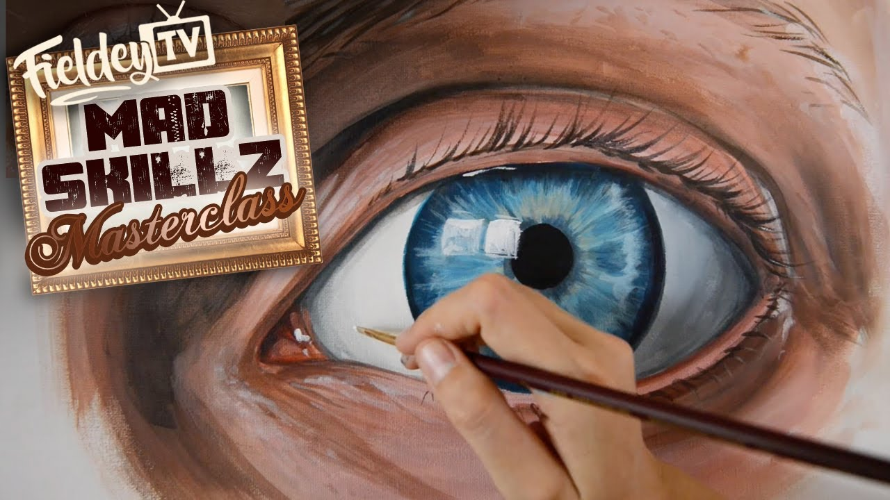 How To Paint Realistic Eyes That Will Make Your Art Look Alive Msm 11