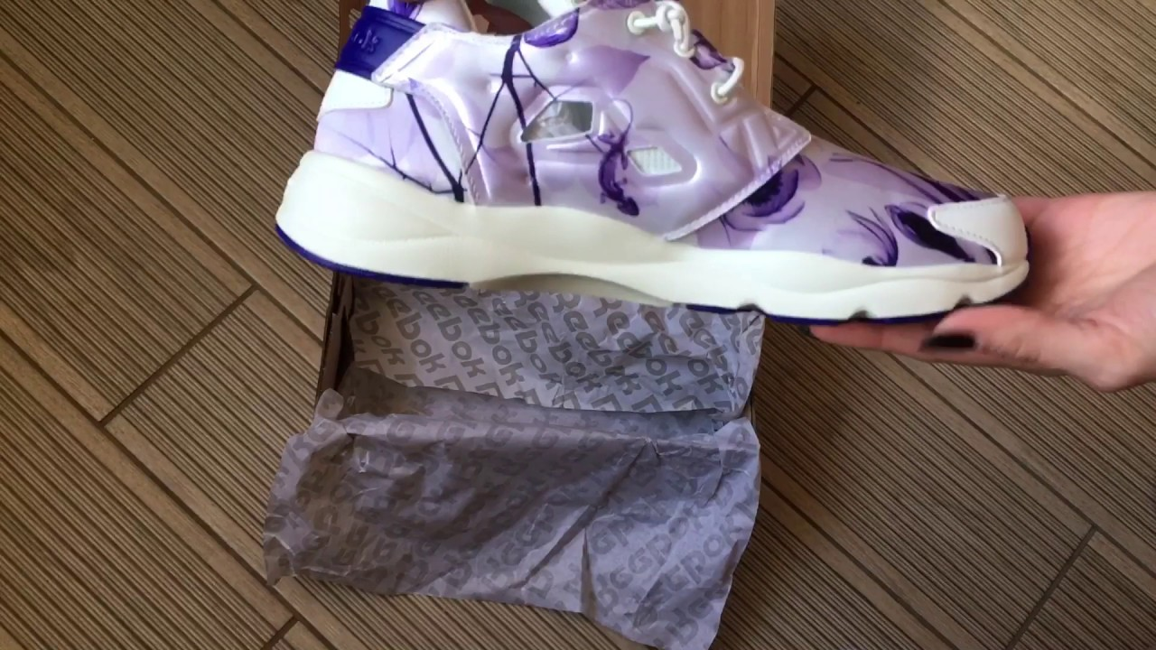 1c28fbe20f04f2 Reebok Women s Furylite Graphic Fashion Sneake - YouTube