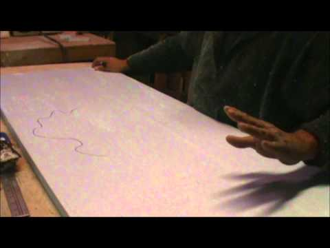 Foam Board Carving HOW-TO PT 1 11-18-2012