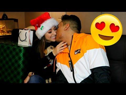My Girlfriend  & I Exchange Gifts on Christmas!