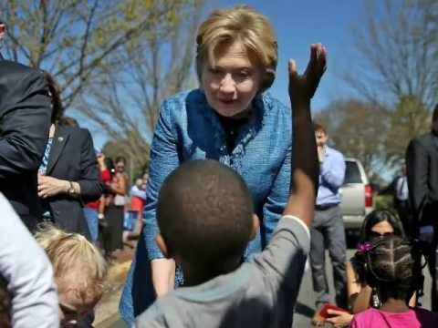 Trump Mafia  black kids hate hillary clinton