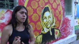 Egly Larreynaga, directora y actriz de Teatro de El Salvador. #25N 2016