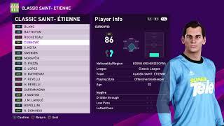 (PS4) PES 2020: Classic Saint Etienne