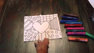 Britto Art Lesson 2