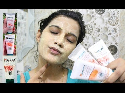 How to do Clean up at Home Step by Step | Facial Using Himalaya Products | One brand Clean up