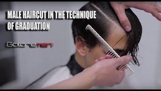 Мужские стрижки 2018 GRADUATION Мастер-класс по мужским стрижкам Hairstyles Tutorial