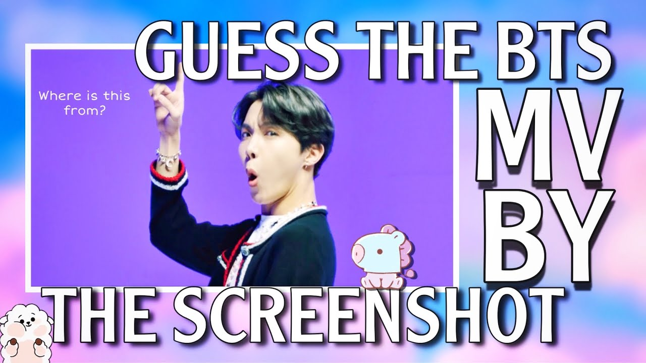 GUESS THE BTS SONG BY THE MV SCREENSHOT | (Easy-Very Hard)