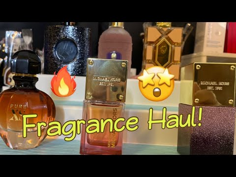 FRAGRANCE HAUL | NEW PERFUMES IN MY COLLECTION | MICHAEL KORS | GUERLAIN | YSL | PACO RABANNE