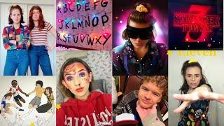 Stranger Things 3 Tik Tok video compilation