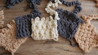 Топ 5 узоров для пряжи Ализе Пуффи - Knitting Patterns Alize Puffy
