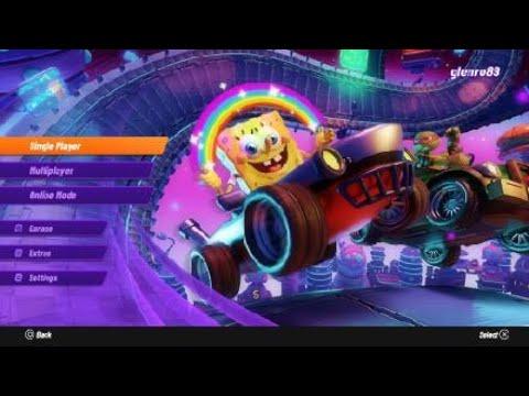 Nickelodeon Kart Racers 2 Grand Prix gameplay |