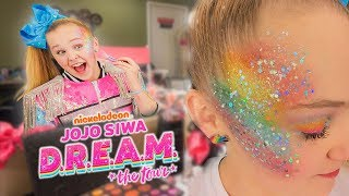 Download GET READY WITH ME ON TOUR!! (Rainbow DREAM Makeup!🌈)- JoJo Siwa Mp3 and Videos