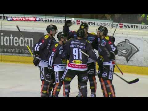 Erste Bank Eishockey Liga 2017/18, Runde 20: Dornbirn Bulldogs – Black Wings Linz 3:2 n.SO.