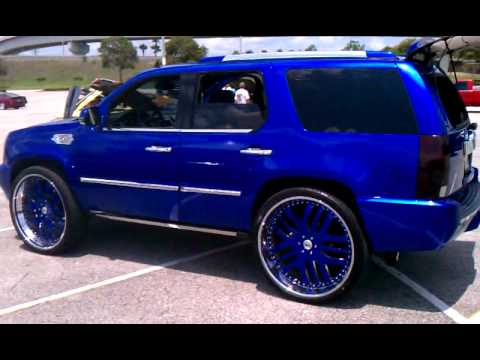 Candy Cobalt Blue Escalade On 30 Asanti