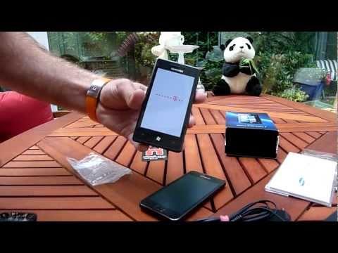 Samsung Omnia 7 Unboxing - Deutsch