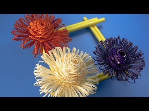 Paper Flowers - Paper Crafts - Wall Decoration ideas