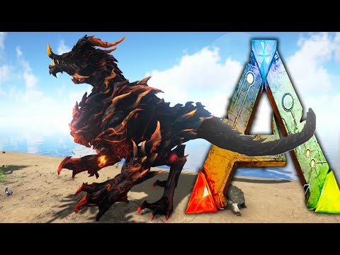 Ark Survival Evolved - DRAGON GOD ! Sacrificial Alter, Pet DodoRex - Ark Dragon Taming Gameplay